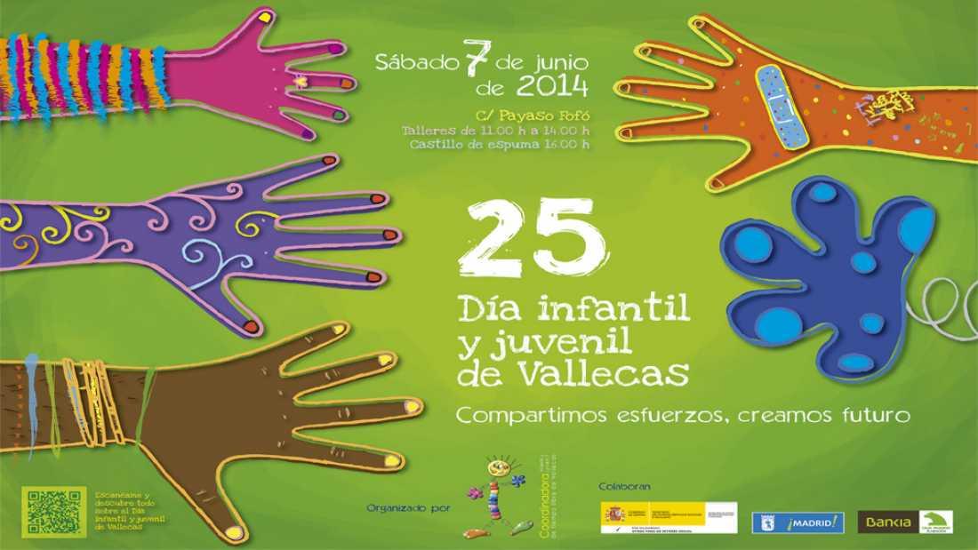 ¿Te apuntas? Día infantil y juvenil de Vallecas