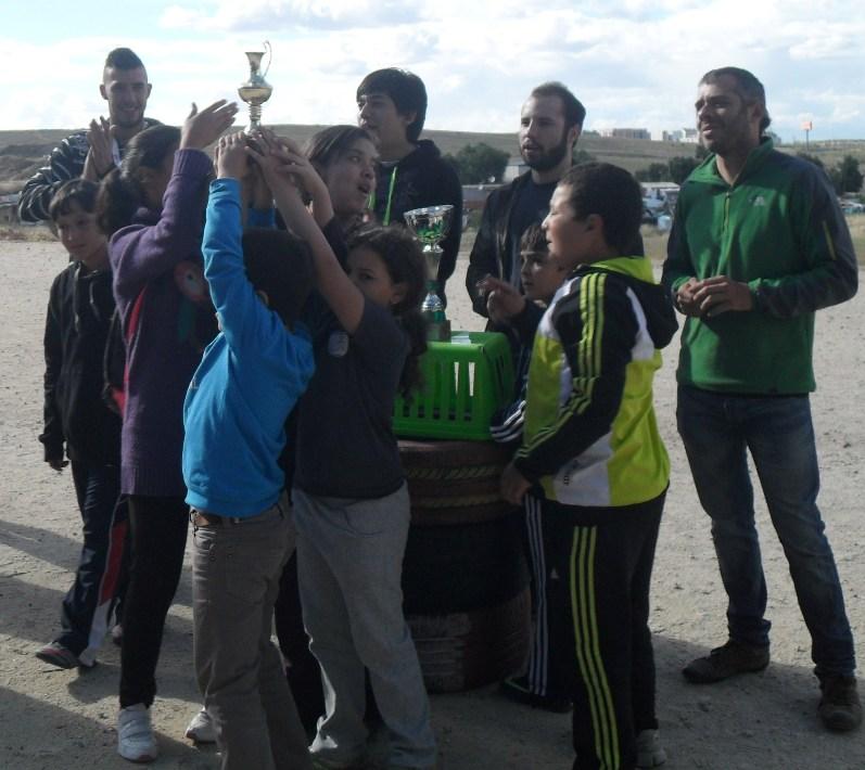 Niños y niñas de la Cañada participan en la Olimpiadas del Fanal