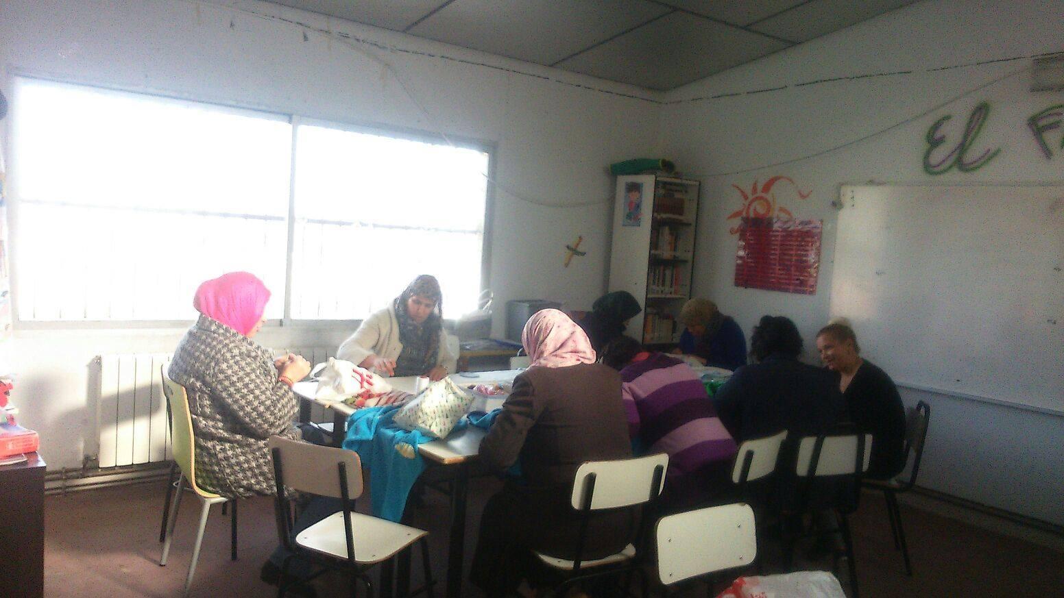 Costura y clases de español, Cañada Real