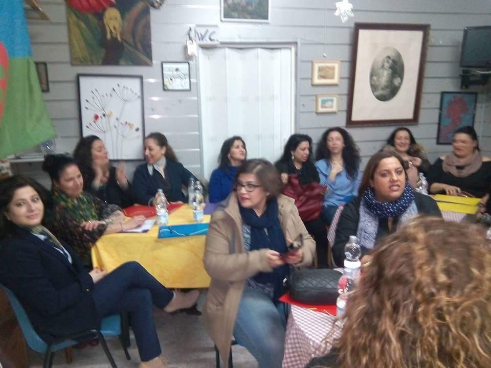"""Mesa de trabajo """"Feminismo Romaní"""""""