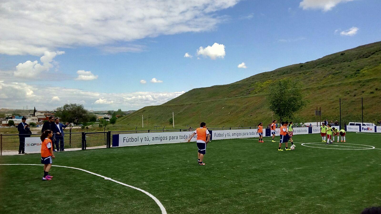 Inauguración Campo de Fútbol
