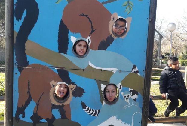 visita al zoo colonia urbana valdebernardo