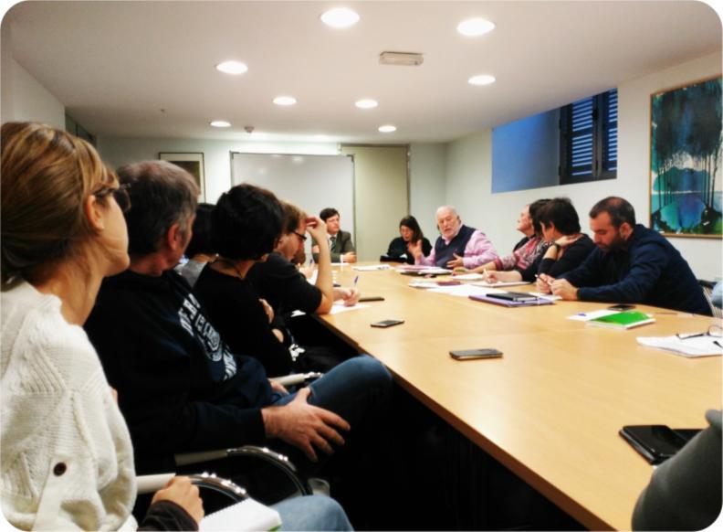 Núcleo Cañada Real con Carlos Giménez y Marco Marchioni.