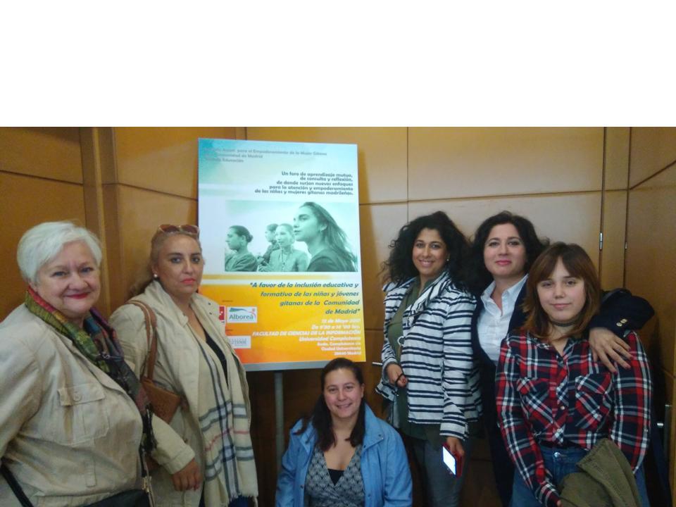Primera Jornada Anual para el Empoderamiento de la mujer Gitana de la Comunidad de Madrid