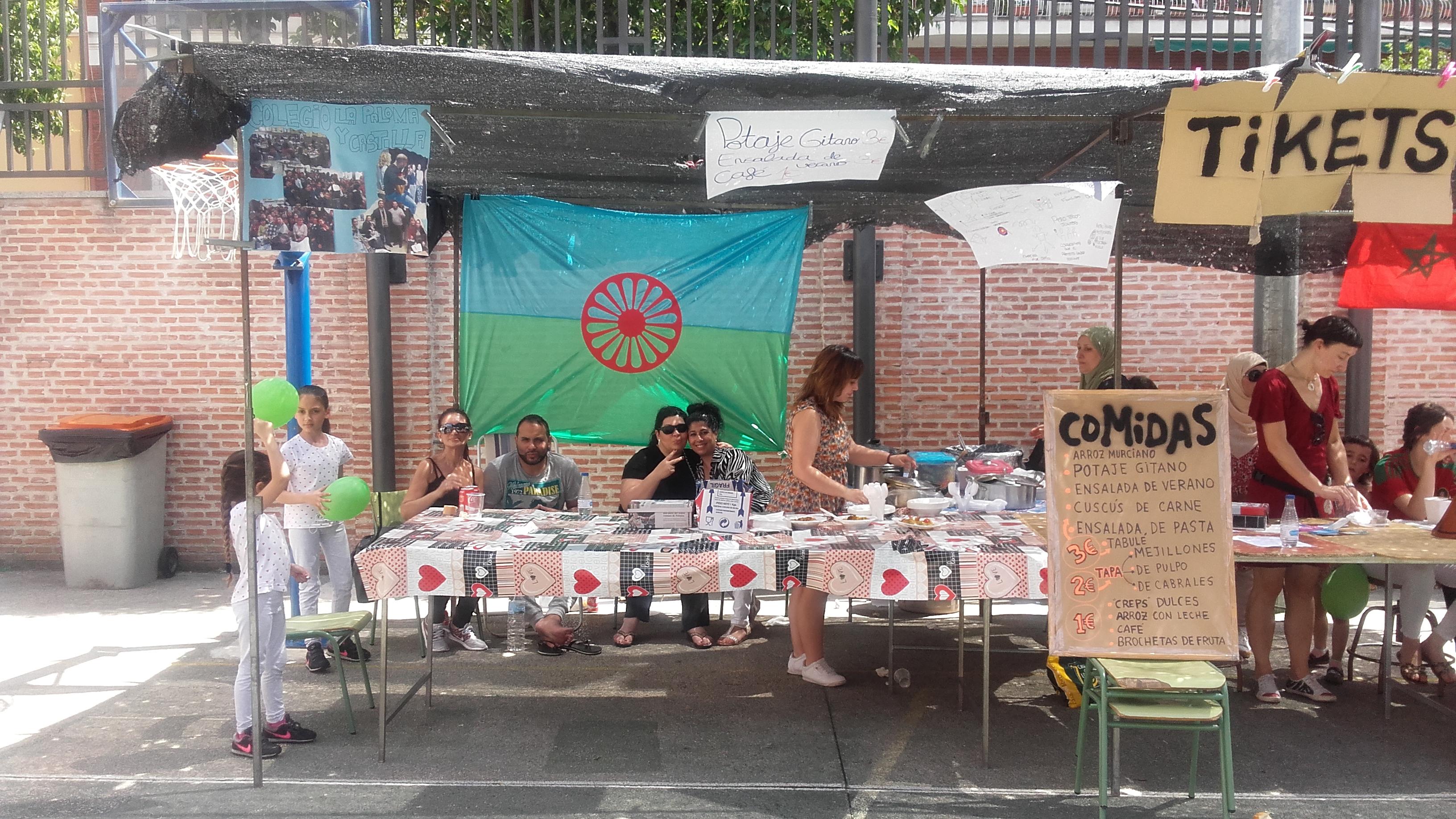 Fiesta solidaria de la Escuela de Padres del C.P. La Paloma