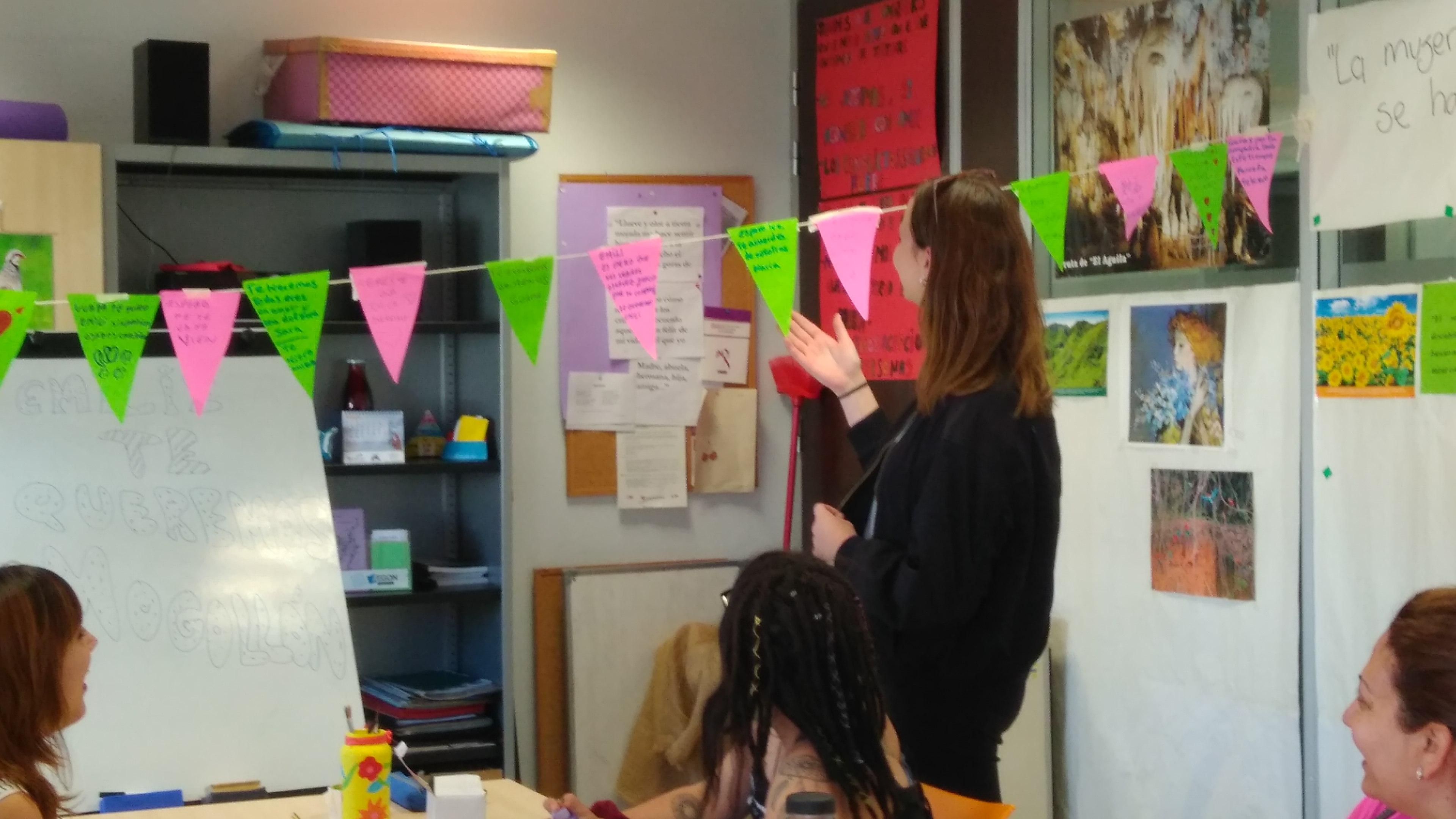 Despedida de Emilié, nuestra alumna en prácticas Erasmus