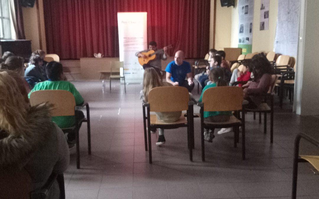 Cuentos gitanos en los colegios del distrito centro