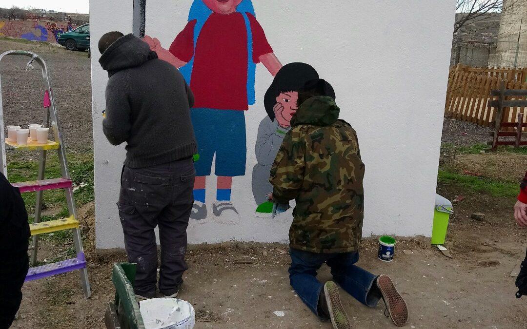 Taller de pintura y graffiti