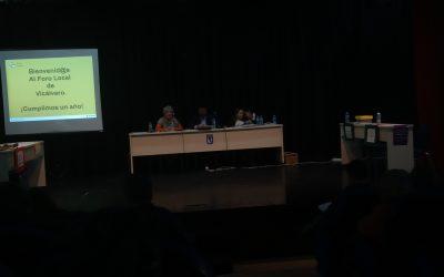 Plenarios de los Foros locales de Vicálvaro y Villa de Vallecas.