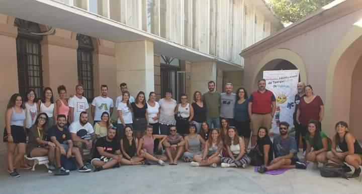Encuentro de educadores/as de la Coordinadora infantil y juvenil de tiempo libre de Vallecas.