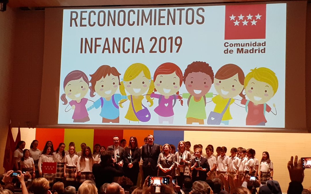 Premios Reconocimientos Infancia 2019.