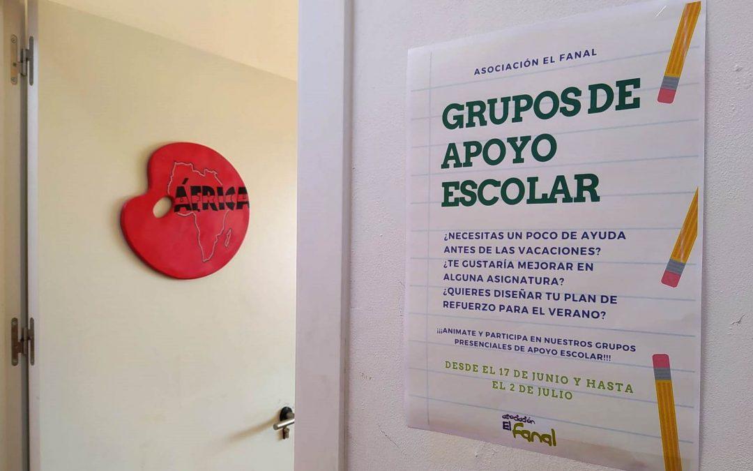 Grupos de Apoyo Escolar.