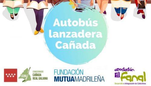 Ya está en marcha el primer Autobús Lanzadera de Cañada Real para los/as jóvenes que continúen estudiando.