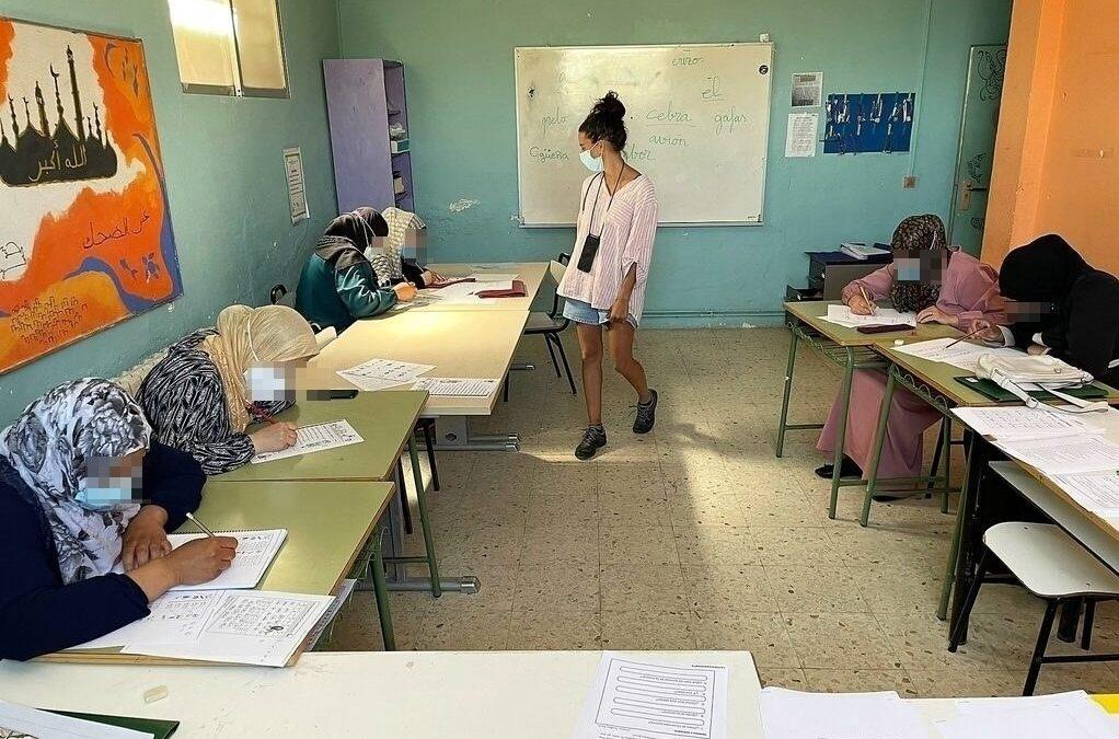 Gran acogida del proyecto CLAVES por parte de las mujeres de Cañada.